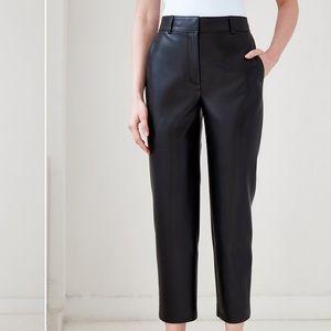 Aritzia Babaton Command Faux Leather Pants